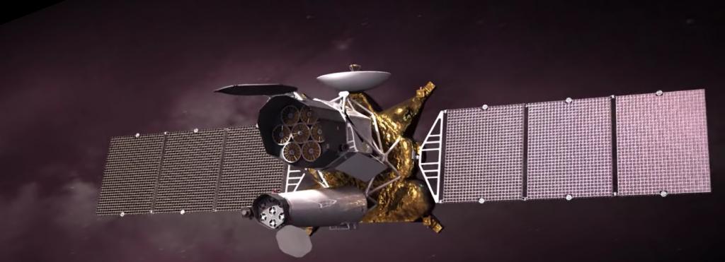 кадр из ролика Роскосмоса